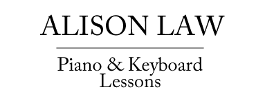 Alison Law Piano and Keyboard Lessons